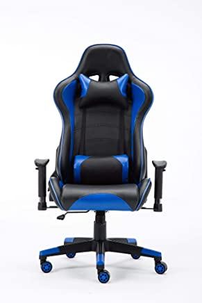 Goldedge Hard Core Video Gaming Adjustable Chair Pu Leather