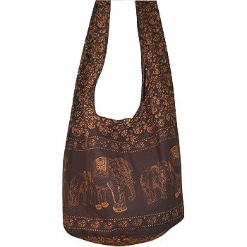 Hobo Bags Thai Elephant hppie Bag Crossbody Bag Messenger Bag Shoulder Sling Small Purse