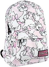 Mochila Escolar de Marie de Disney con Licencia Oficial para Jóvenes y Adultos 44 cm, Color Rosa