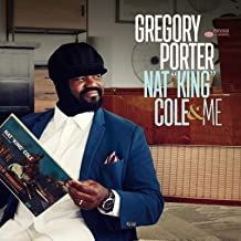 Best LYWUSUZE Gregory Porter NAT Album Cover Painting Poster Wall Art for Living Room Home Decor Gift Print on Canvas -60x60cm No Frame Review