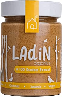Ladin Organics %100 Badem Ezmesi 310 gr