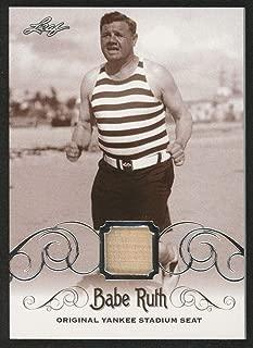 Babe Ruth 2016 Leaf #ys-55 Original Yankee Stadium Game Used Seat Trading Card - Baseball Game Used Cards