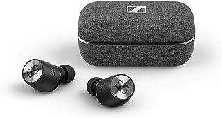Sennheiser ゼンハイザー Bluetooth 完全ワイヤレスイヤフォン MOMENTUM True Wireless 2, M3IETW2 BLACK ノイズキャンセリング、LDSアンテナ、Bluetooth 5.1、ドイツ本社開発7...