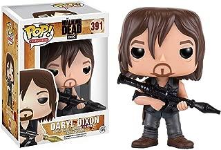 Funko Daryl Dixon [Rocket Launcher]: Walking Dead x POP! TV Vinyl Figure & 1 PET Plastic Graphical Protector Bundle [#391 / 11065 - B]