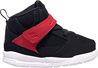 Boys' Baby/Toddler Flight 45 High (TD) CI5761-006 Black/Gym Red-White