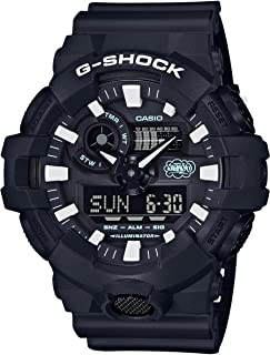 Casio GA700EH-1A G-Shock 35 周年 Eric Haze 协作手表黑/白树脂