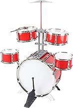 Kit de batería de rock de los niños, juego de instrumentos musicales juego - buen tamaño (no demasiado pequeño)