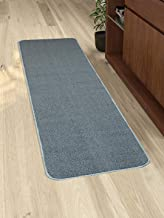 Saral Home Anti Slip Polyester Kitchen Runner- 40x120 cm, Turquoise
