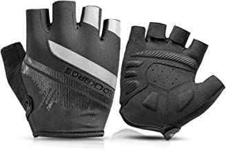 ROCKBROS Professionele Fietshandschoenen voor Dames en Heren, Ademende Anti-slip Sporthandschoenen, MTB-Handschoenen Werkh...