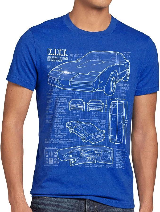 129 opinioni per style3 K.I.T.T. T-Shirt da Uomo
