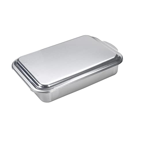 Nordic Ware Classic Metal Covered Cake Pan, 9 by 13-Inch