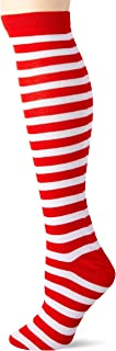Forum Novelties Women's Novelty Striped Knee Socks