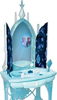 "Disney Frozen 2 Elsa's Enchanted Ice Vanity, Includes Lights, Iconic Story Moments & Plays ""Vuelie"" and ""Into the Unknown""..."