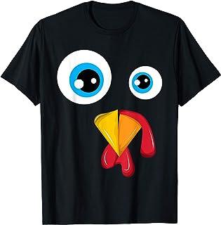 Poulet Poulet Face de coq Costume d'Halloween T-Shirt