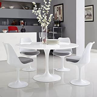 Best modway lippa 54 artificial marble dining table Reviews