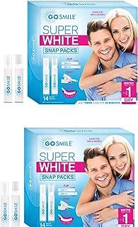 Go Smile Super White Teeth Whitening System Snap Pack Kit {2 pk}