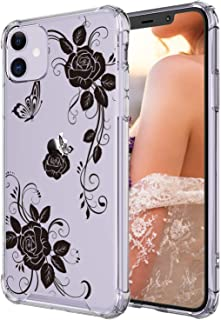 Case for iPhone 11,Cutebe Shockproof Series Hard PC+ TPU Bumper Protective Case for Apple iPhone 11 6.1 Inch(Black)