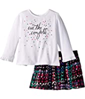 Kate Spade New York Kids - Cue The Confetti Skirt Set (Infant)