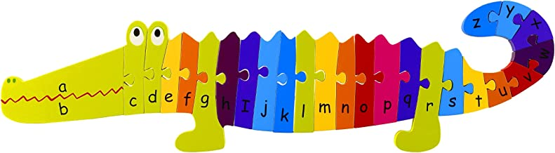 Orange Tree Toys Alphabet Crocodile Puzzle