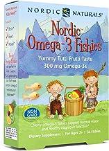 Nordic Naturals Nórdicos Omega-3 Fishies, 300Mg De Delicioso Sabor De Tutti Frutti - 36 Fishies 36 Unidades 70 g