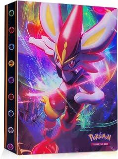 JOYUE Pokemon-plakboek, Pokemon-kaartenalbum, Pokemon-kaarthouder, Pokemon-map, kaartenalbum, boek, Pokemon-kaarten, GX E...