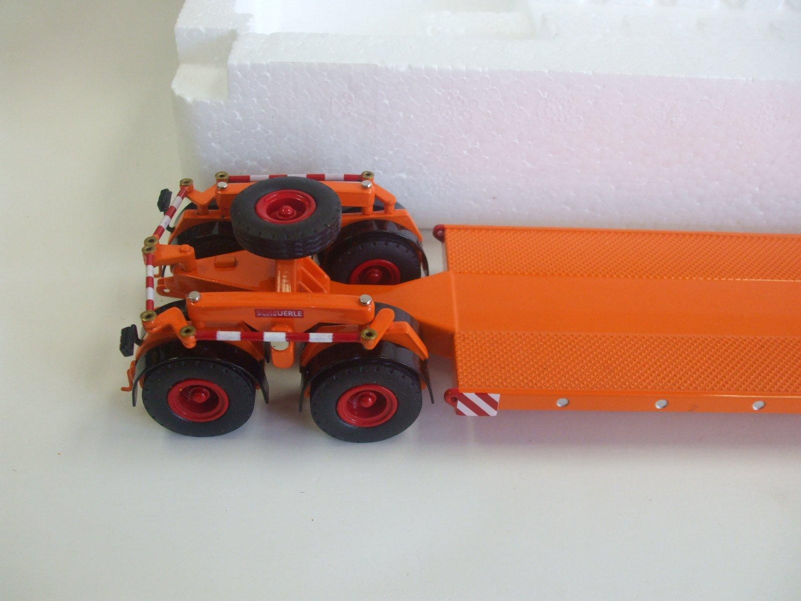KAELBLE KDV22 Z8T historische Schwerlast-Zugmaschine NZG 1:50 452//65 Orange