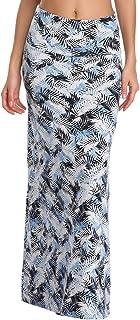 Women's Boho Long Skirt Soft Stretchy Maxi Skirt