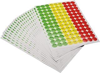 AGIPA Bte Distributrice 150 /étiquettes Gommettes de signalisation Rondes 15 mm Violet