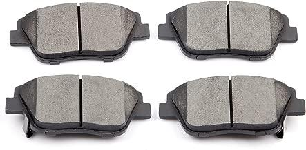 Brake Pads, ECCPP 4pcs Front Ceramic Disc Brake Pads Kits for 2011 2012 2013 2014 2015 Hyundai Sonata,2011 2012 2013 2014 Kia Optima