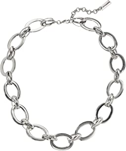 "20"" Polished Large Oval Link Necklace"