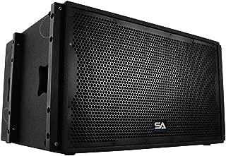 Seismic Audio SALA-215S Premium Passive 2 x 15 Line Array Subwoofer PA/DJ Band Live Sound