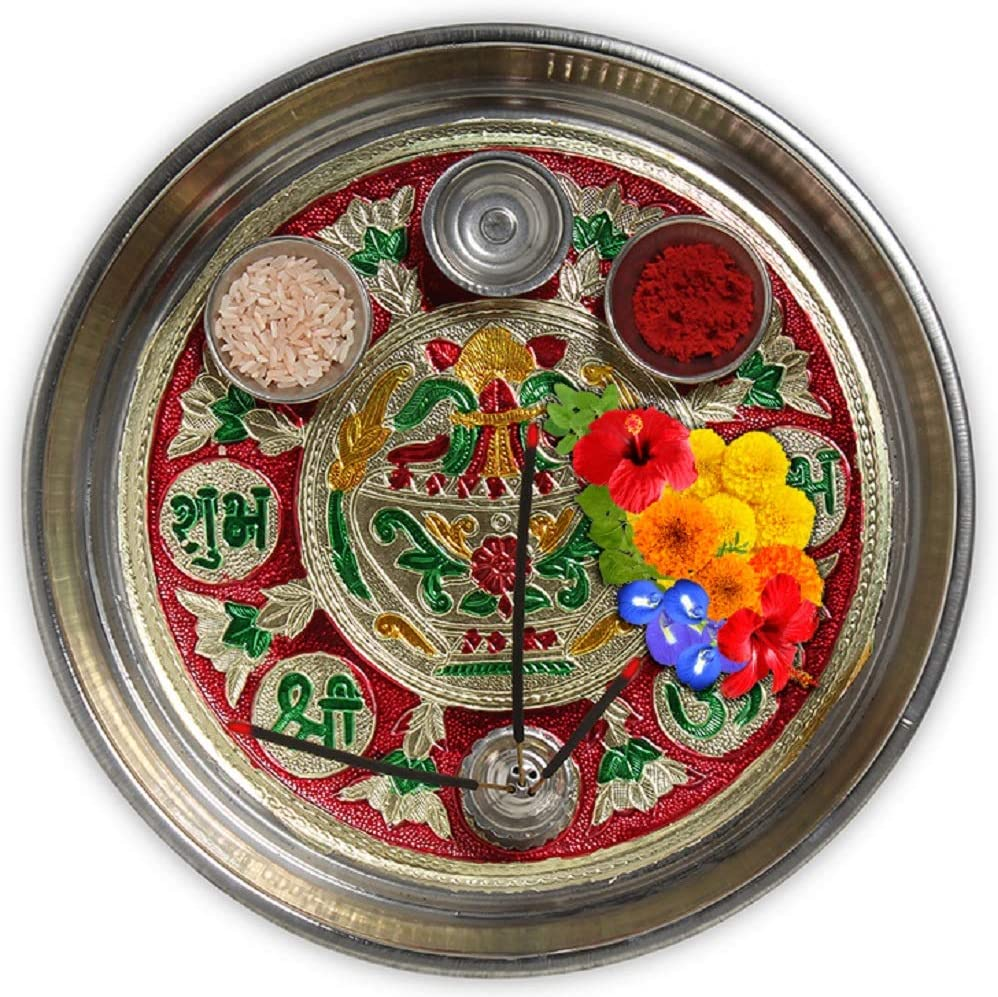 DEVIKA Shubh Labh Outlet SALE Max 57% OFF Pooja THALI Ganpa Festive Gifting. and for