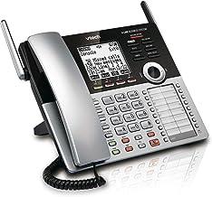 VTech CM18445 Main Console – DECT 6.0 4-Line Expandable Small Business Office Phone..