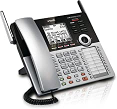 VTech CM18445 Main Console – DECT 6.0 4-Line Expandable Small Business Office Phone..