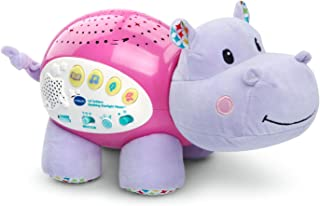 vtech baby lil' critters soothing starlight hippo, pink