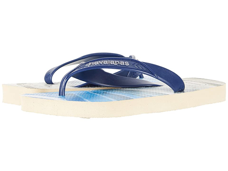 Havaianas Surf Flip-Flops (Beige/Blue Navy) Men