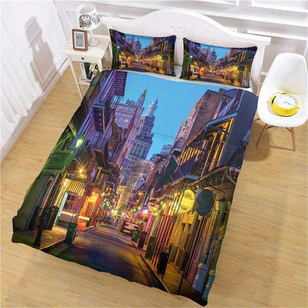 JJBWZX Hotel Duvet Cover Outstanding Full Size 3 overseas 1 Cov 80X90In Pieces