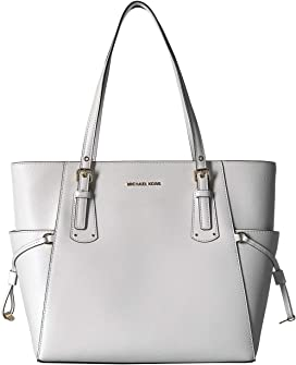 9773793ea3 MICHAEL Michael Kors Voyager Medium Top Zip Tote at Zappos.com