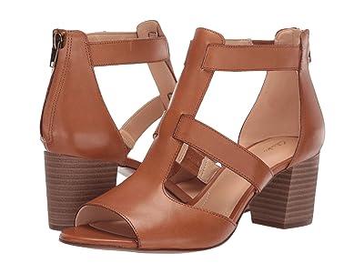 Clarks Deloria Fae (Tan Leather) High Heels