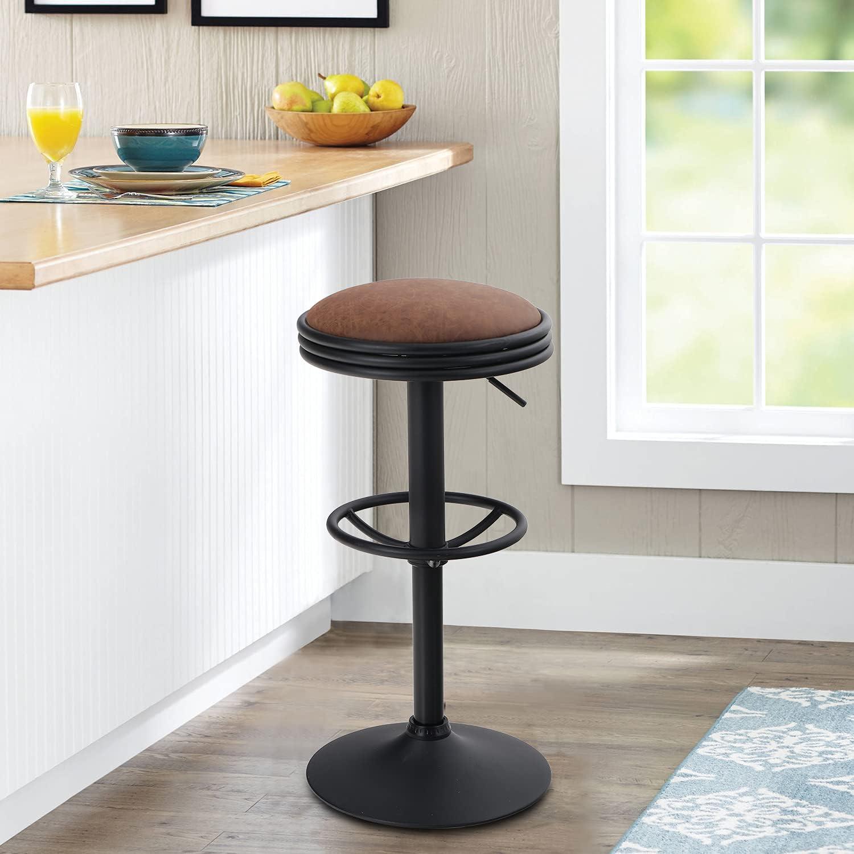 Buy MAISON ARTS Swivel Bar Stool for Kitchen Counter Adjustable ...