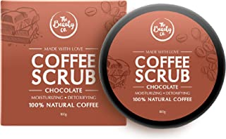 The Beauty Co. Chocolate Coffee Face & Body Scrub, 100 g | 100% Natural | Coffee | Argan | Coconut | Paraben & SLS Free