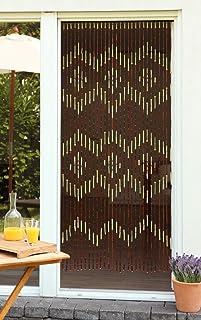 Leguana - Cortina de cuentas cortina de cuentas de madera cortina para puerta