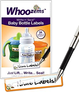 Baby Bottle Name Bands