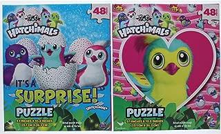 2 Pk. Hatchimals Jigsaw Puzzles 48 Piece 9.1 X 10.3 Inches