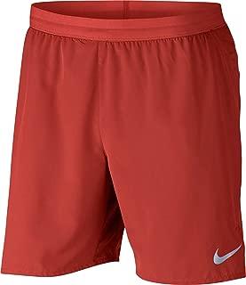 Men's Flex Distance 7'' Running Shorts (Rush Coral/Vast Grey, X-Large)