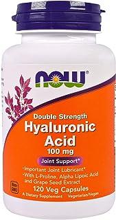 Hyaluronic Acid 2X Plus Veg Capsules, 100 mg - 120 ct (Pack of 2)