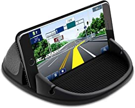 Car Phone Holder, SDMS Car Phone Mount Silicone Dashboard Pad Mat-Multi Use Anti-Slip Desk Phone Stand Compatible with iPhone, Samsung, Android Smartphones, GPS Devices and More
