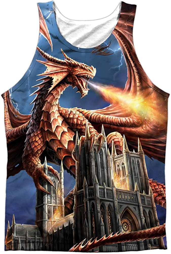 Tank We OFFer at cheap prices Popular popular Top: Anne Stokes- Dragon's Fury M Back Size Front