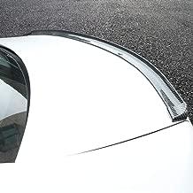 Udele-Store - Car Rear Roof Trunk Spoiler Wing Lip Sticker for Ford Focus 2 3 Fiesta Mondeo Kuga Citroen C4 C5 Skoda Octavia Rapid Superb