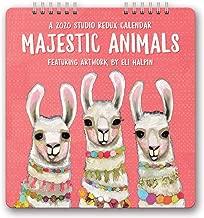 Orange Circle Studio 2020 Studio Redux Calendar, Eli Halpin Majestic Animals